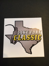 Lake Fork Classic Bumper/Window Sticker (Pack of 3)