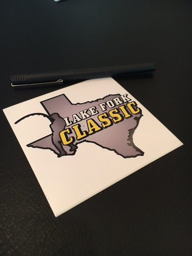 Lake Fork Classic Bumper/Window Sticker (2 pack)