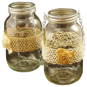 Hanging Canning Jars
