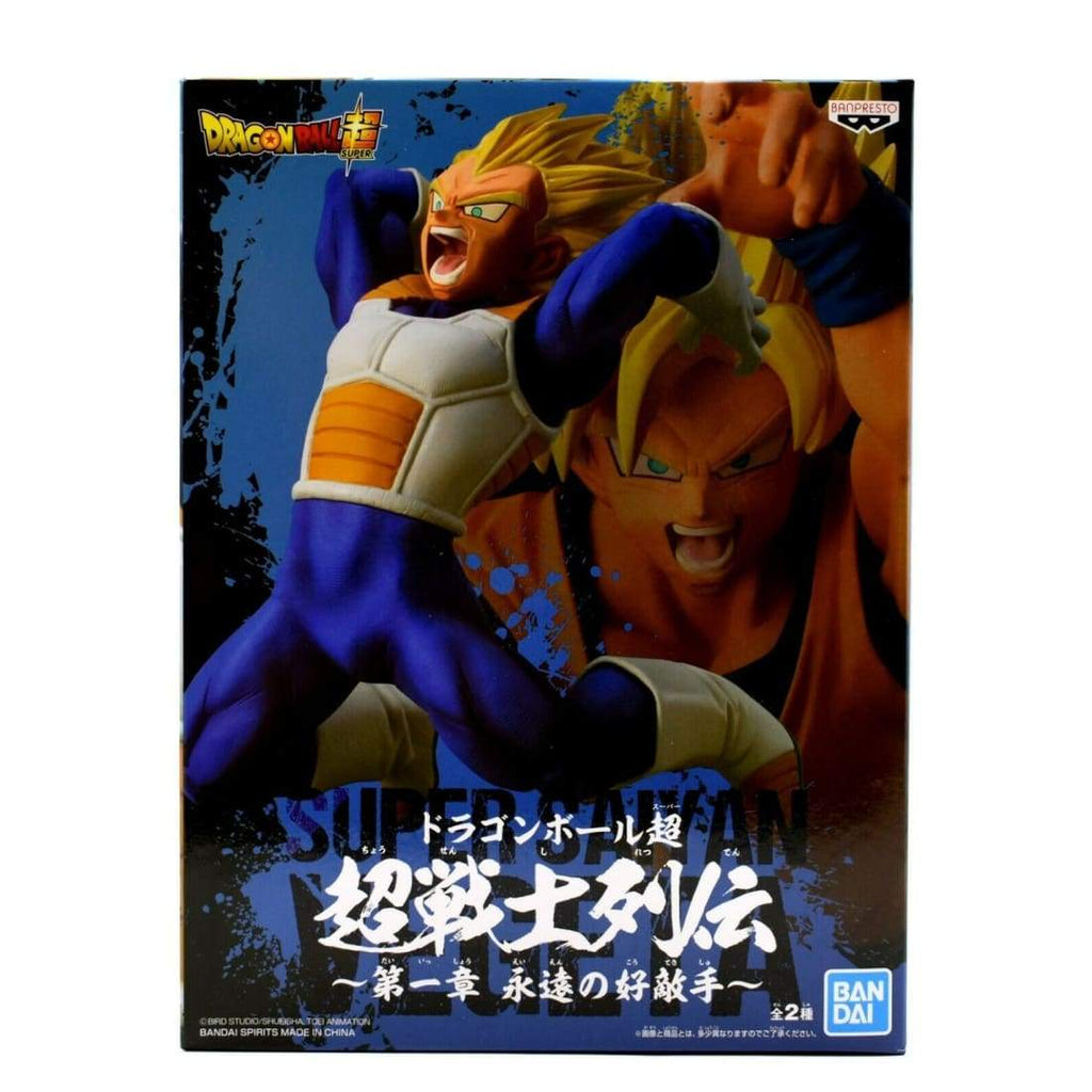 Bandai - Dragonball Super Chosenshiretsuden Vol 1 - Super Saiyan Vegeta Figurine - Toys & Games:Action Figures:TV Movies & Video Games