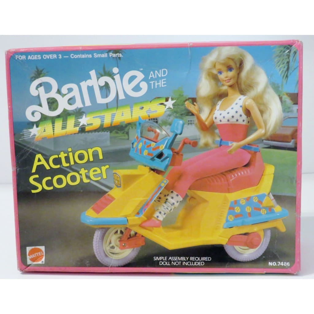 Barbie And The All Stars - Action Scooter