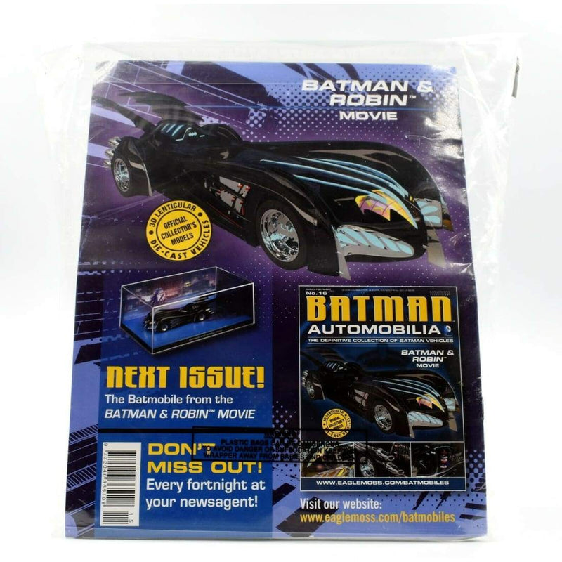 Eaglemoss Batman Automobilia - No.15 Batman & Robin #1 Vehicle - Toys & Games:Action Figures:TV Movies & Video Games
