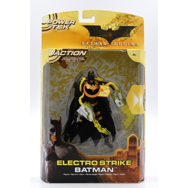 Batman Begins Power Tek - Electro Strike Batman Action Figure