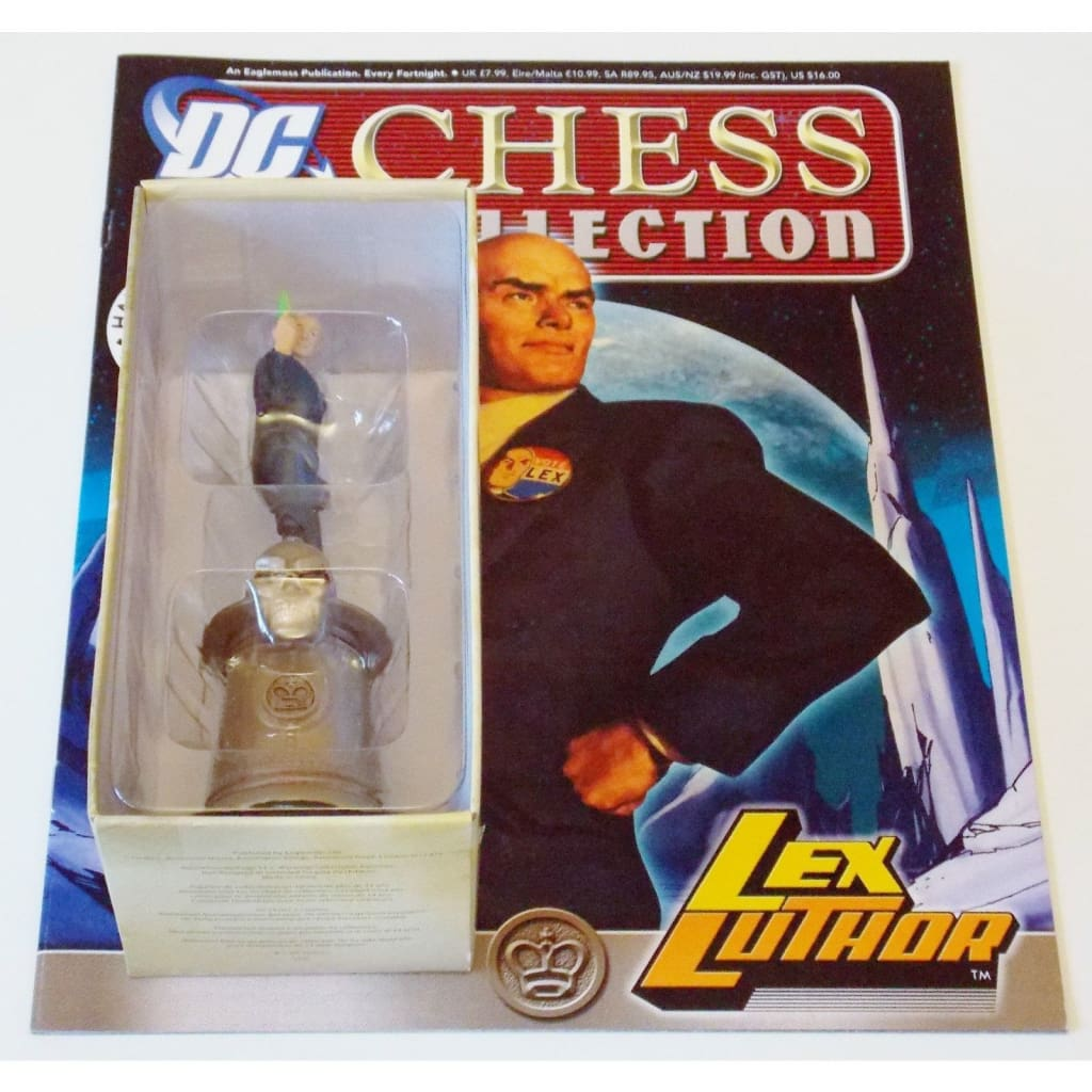 Dc Chess Collection - No.38 Lex Luthor Figurine