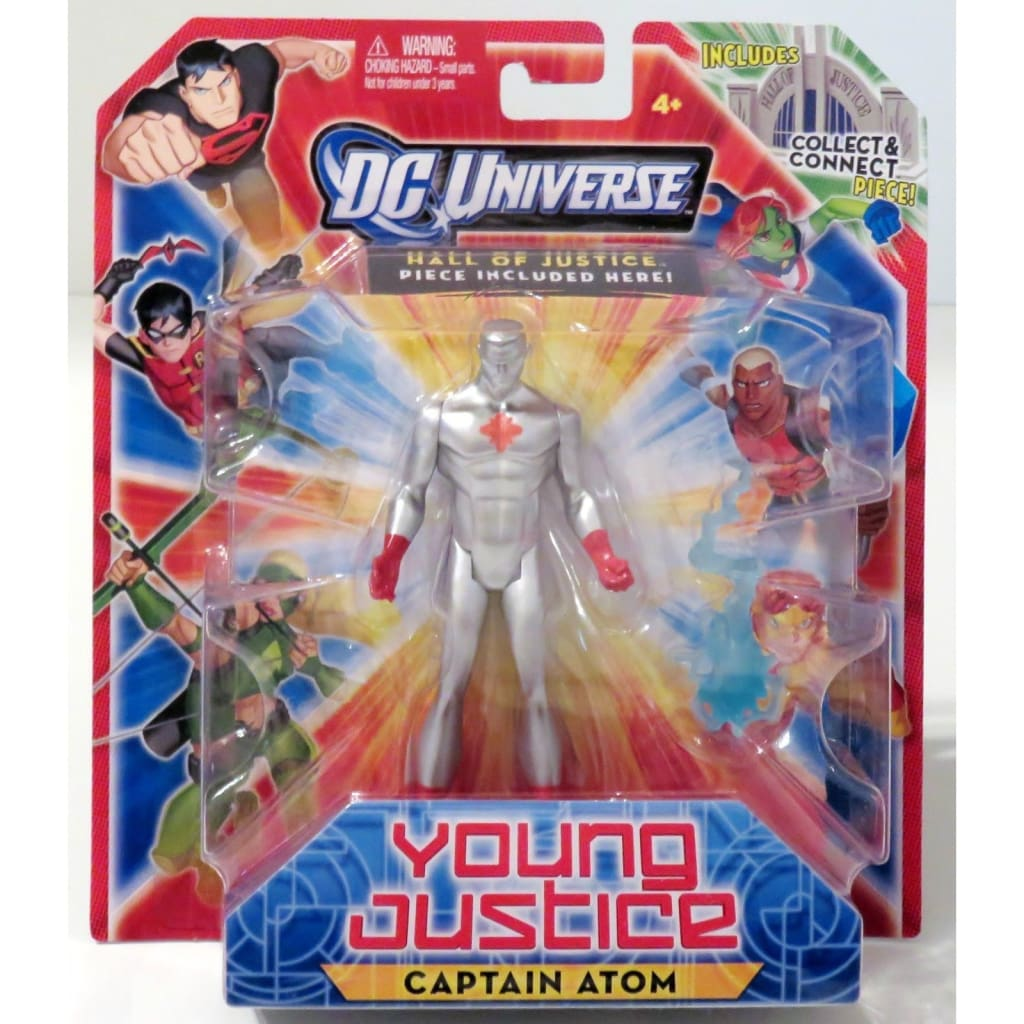 Dc Universe Hall Of Justice - Young Justice Captain Atom Action Figure