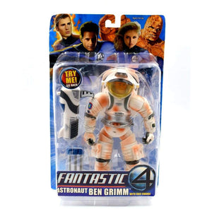 Fantastic Four 4 The Movie - Astronaut Ben Grimm (Burnt Suit) Action Figure - Toys & Games:Action Figures:TV Movies & Video Games