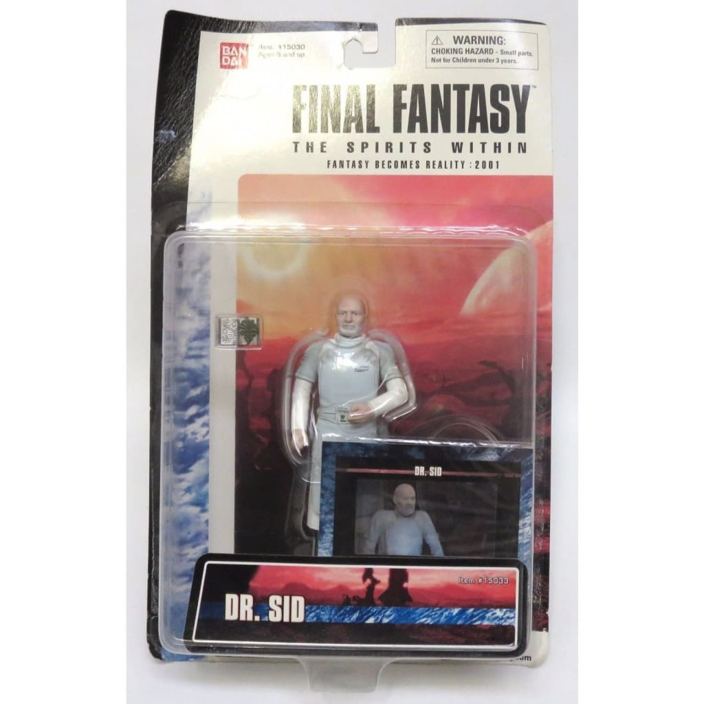 Final Fantasy The Spirits Within - Dr. Sid Action Figure