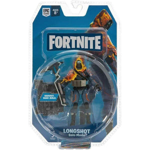 Fortnite Series 3 - Longshot Solo Mode Action Figure - Toys & Games:Action Figures:TV Movies & Video Games