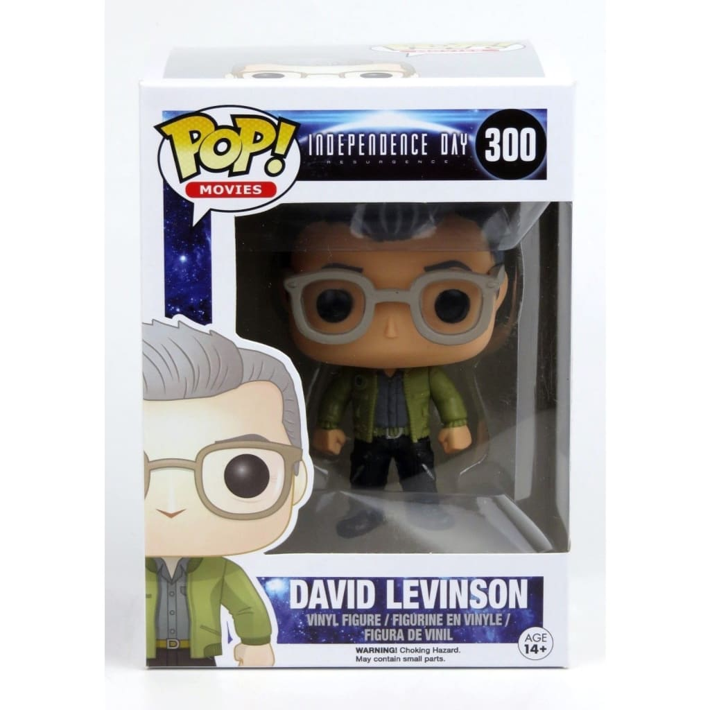 Funko Pop Movies - Independence Day Resurgence #300 David Levinson Vinyl Figure