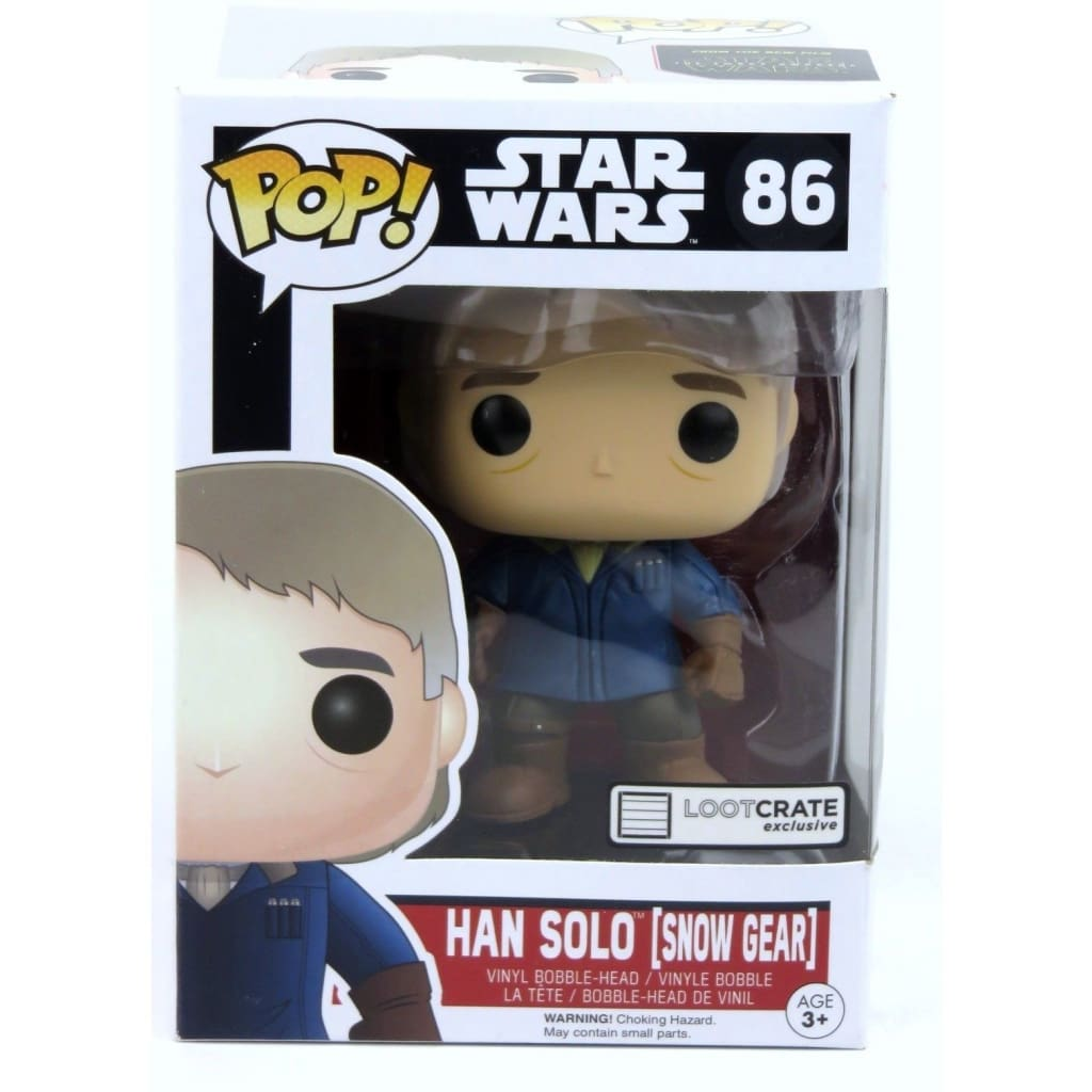 Funko Pop - Star Wars #86 Han Solo (Snow Gear) Vinyl Figure