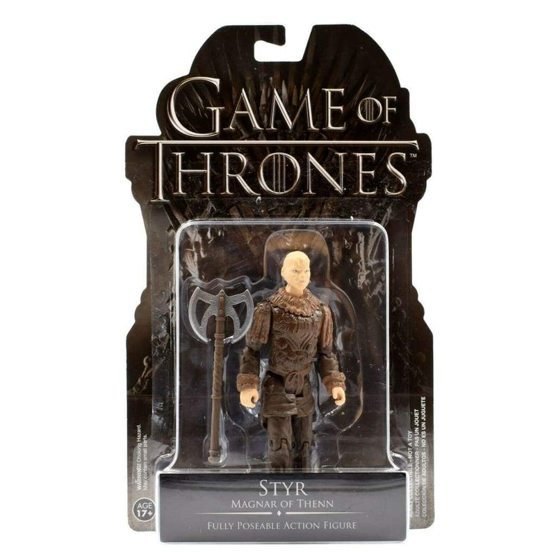 Funko - Game of Thrones - Styr Fully Poseable Action Figure - Toys & Games:Action Figures:TV Movies & Video Games
