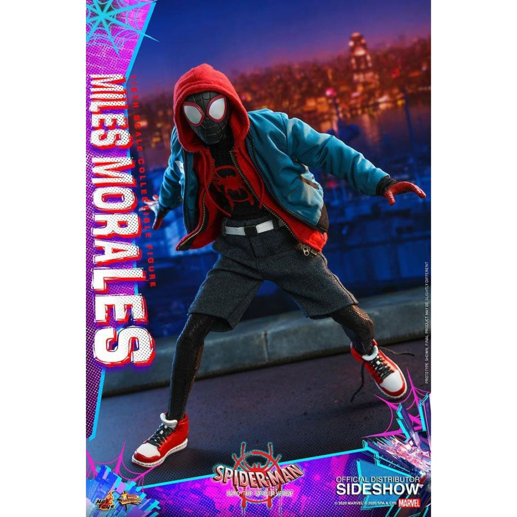 Hot Toys - Spider-Man Into the Spider-Verse - Miles Morales 1:6 Scale Action Figure - PRE-ORDER