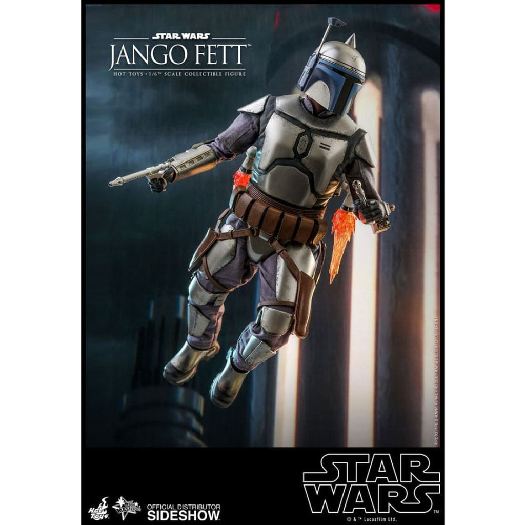Hot Toys - Star Wars Attack of The Clones - Jango Fett 1:6 Scale Action Figure - PRE-ORDER