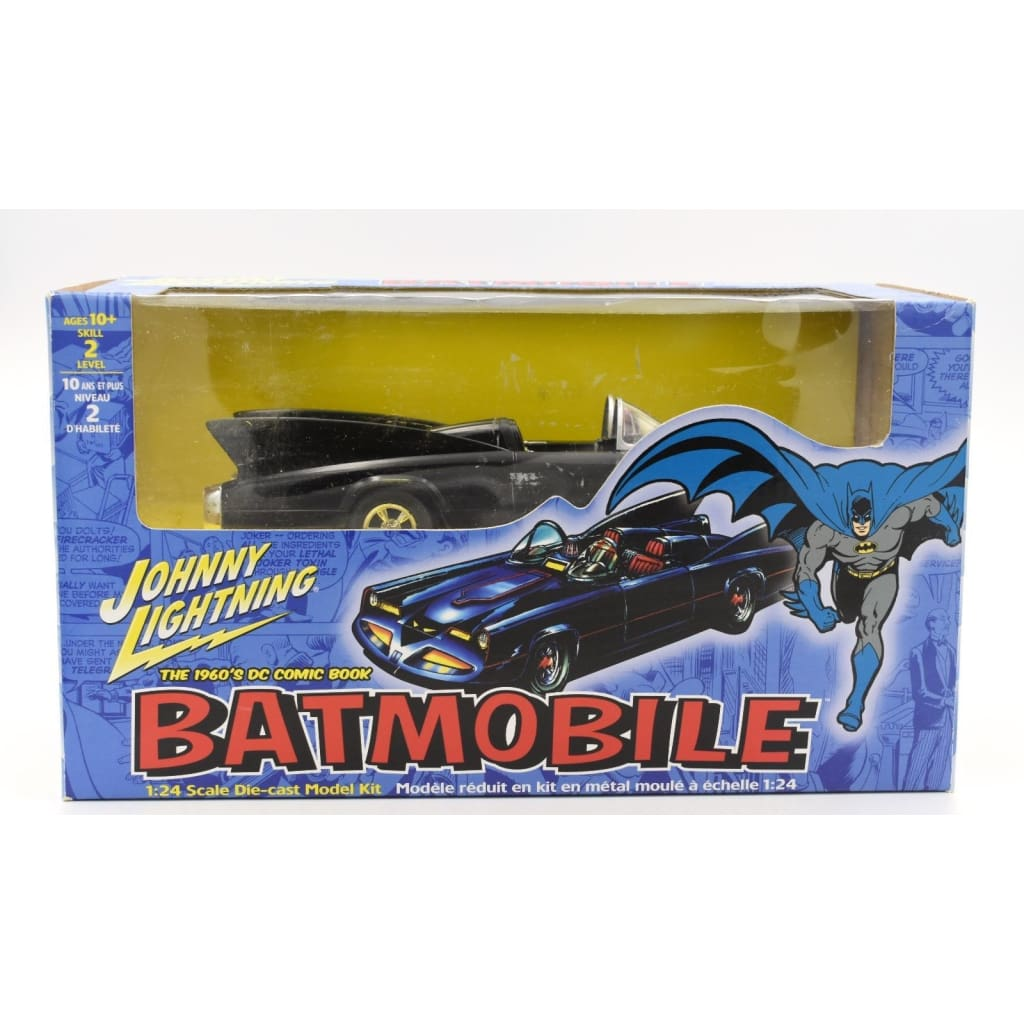 Johnny Lightning Batman 1960S Dc Comic Batmobile 1:24 Scale Die-Cast Model Kit