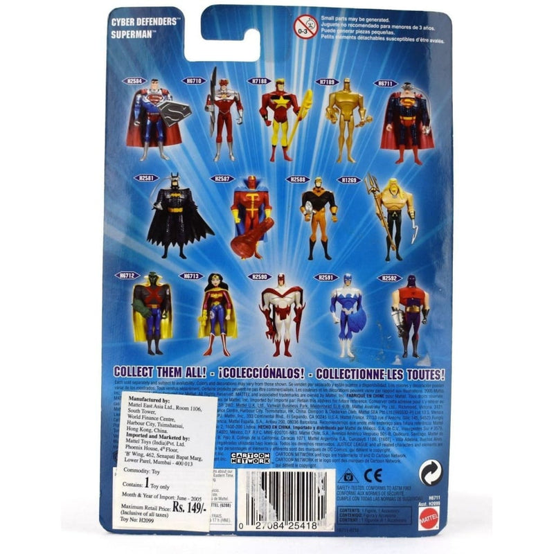 Justice League Unlimited - Cyber Defenders Superman Action Figure