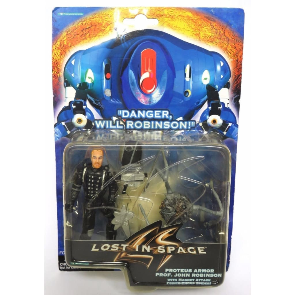 Lost In Space - Proteus Armor Prof. John Robinson Action Figure