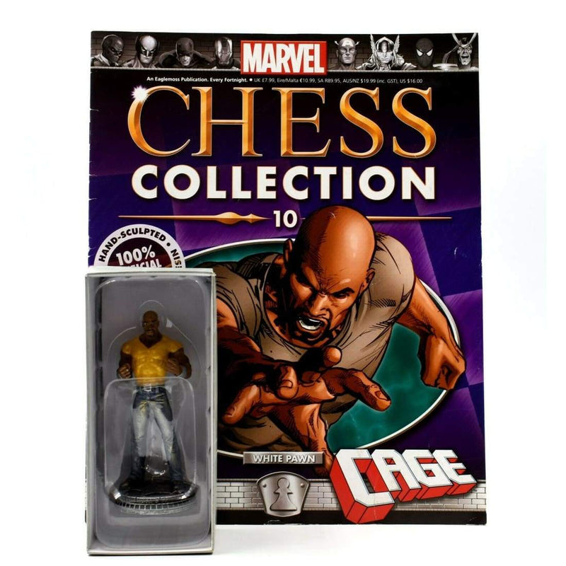 Eaglemoss - Marvel Chess Collection - #10 Luke Cage Figurine - Toys & Games:Action Figures:TV Movies & Video Games