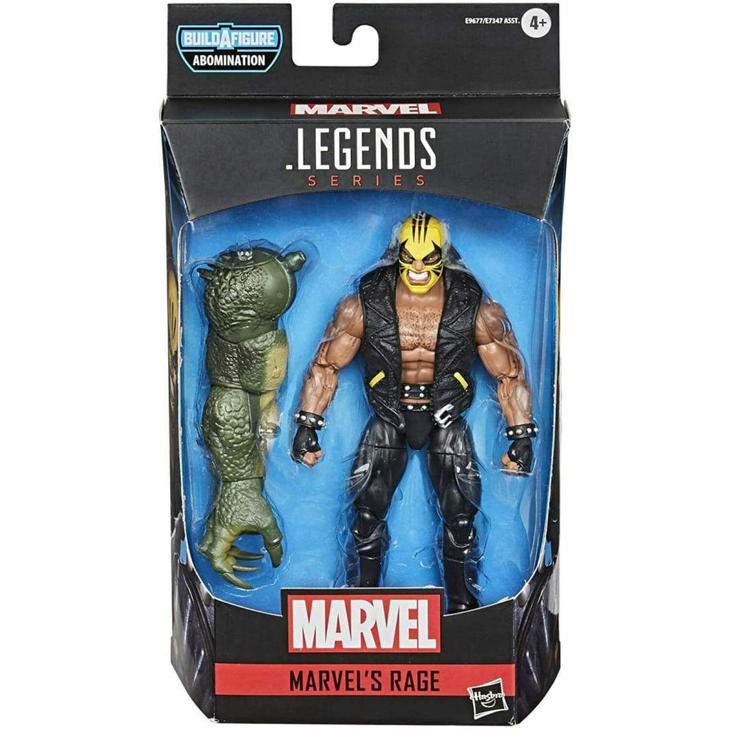 Marvel Legends Abomination BAF Series - Marvel's Rage Action Figure - Toys & Games:Action Figures:TV Movies & Video Games
