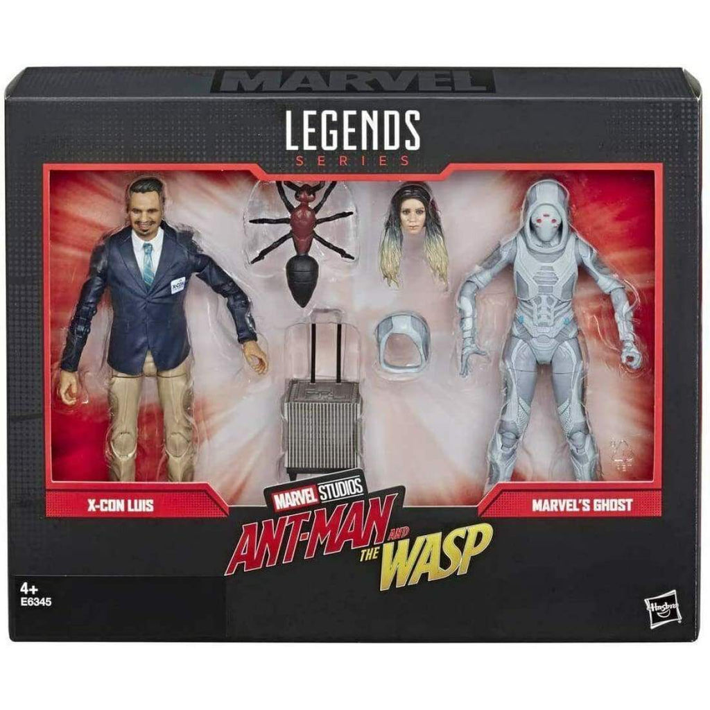 Marvel Legends Ant-Man & The Wasp - X-Con Luis & Ghost Action Figure 2-Pack - Toys & Games:Action Figures:TV Movies & Video Games