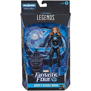 Marvel Legends Fantastic 4 Series Super Skrull BAF Invisible Woman Action Figure - Toys & Games:Action Figures:TV Movies & Video Games