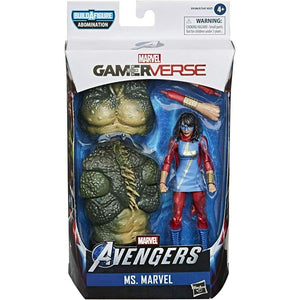 Marvel Legends Gameverse Series Abomination BAF - Ms. Marvel Action Figure - Toys & Games:Action Figures:TV Movies & Video Games