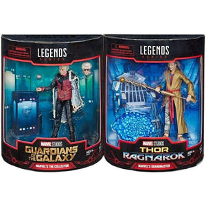 Marvel Legends - Grandmaster & The Collector SDCC Exclusive Action Figure 2-Pack - Toys & Games:Action Figures:TV Movies & Video Games