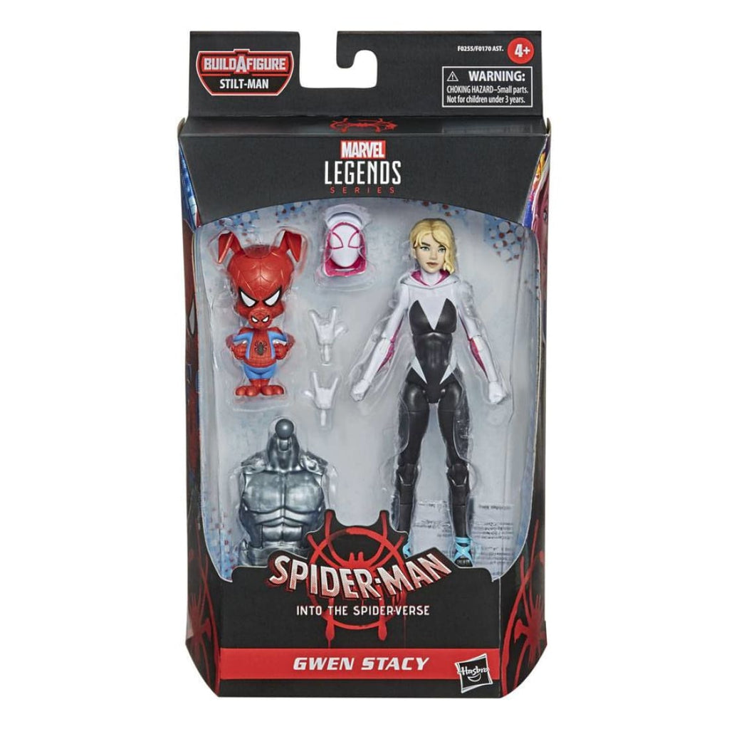 Marvel Legends Stilt-Man BAF Wave - Spider-Man: Into the Spider-Verse Gwen Stacy Action Figure