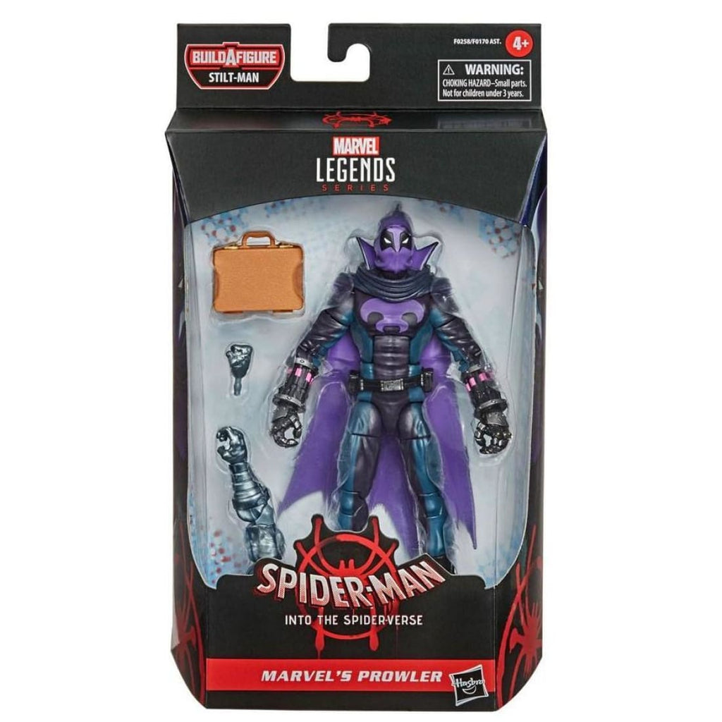 Marvel Legends Stilt-Man BAF Wave - Spider-Man: Into the Spider-Verse Prowler Action Figure