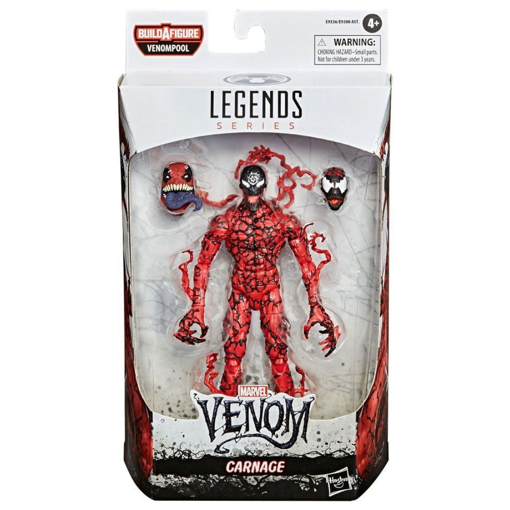 Marvel Legends Venompool BAF Series - Carnage Action Figure - PRE-ORDER