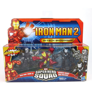 Marvel Super Hero Squad - Iron Man 2 Hi-Tech Showdown Action Figure Set
