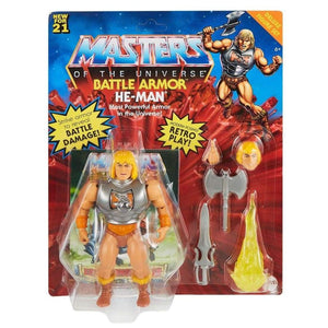 Masters of the Universe Origins 2021 - Battle Armor He-Man Deluxe Action Figure - PRE-ORDER