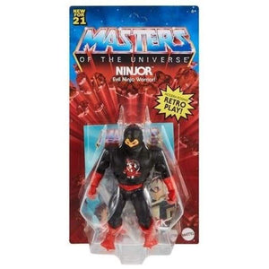 Masters of the Universe Origins 2021 - Ninjor Action Figure - PRE-ORDER