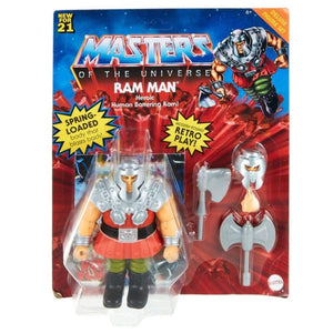 Masters of the Universe Origins 2021 - Ram Man Deluxe Action Figure - PRE-ORDER