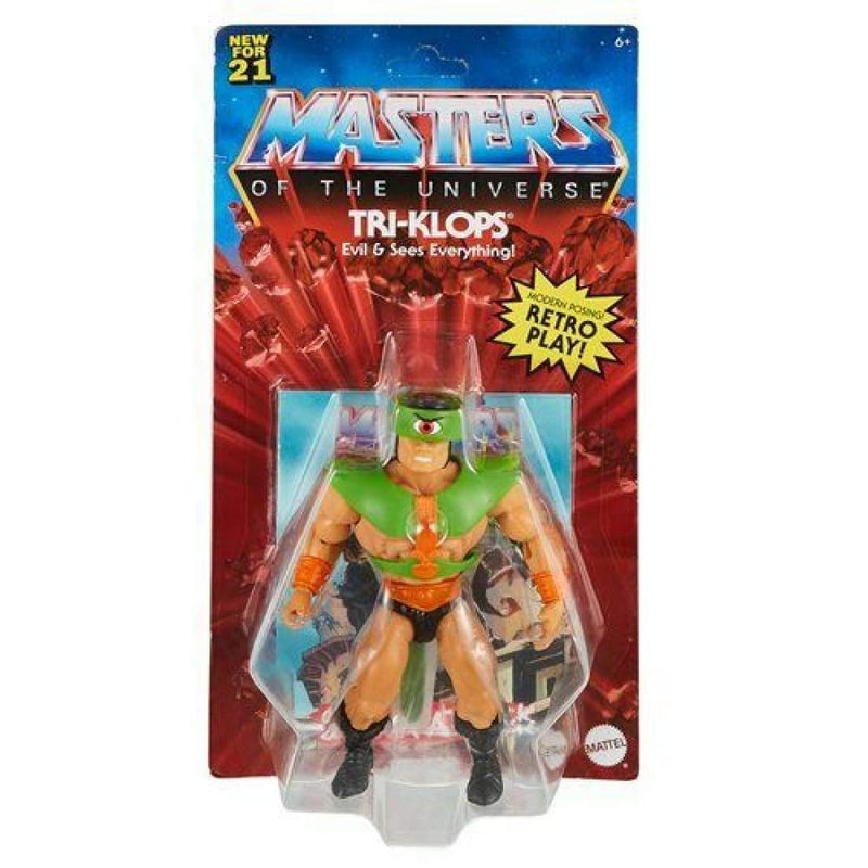 Masters of the Universe Origins 2021 - Tri-Klops Action Figure - PRE-ORDER