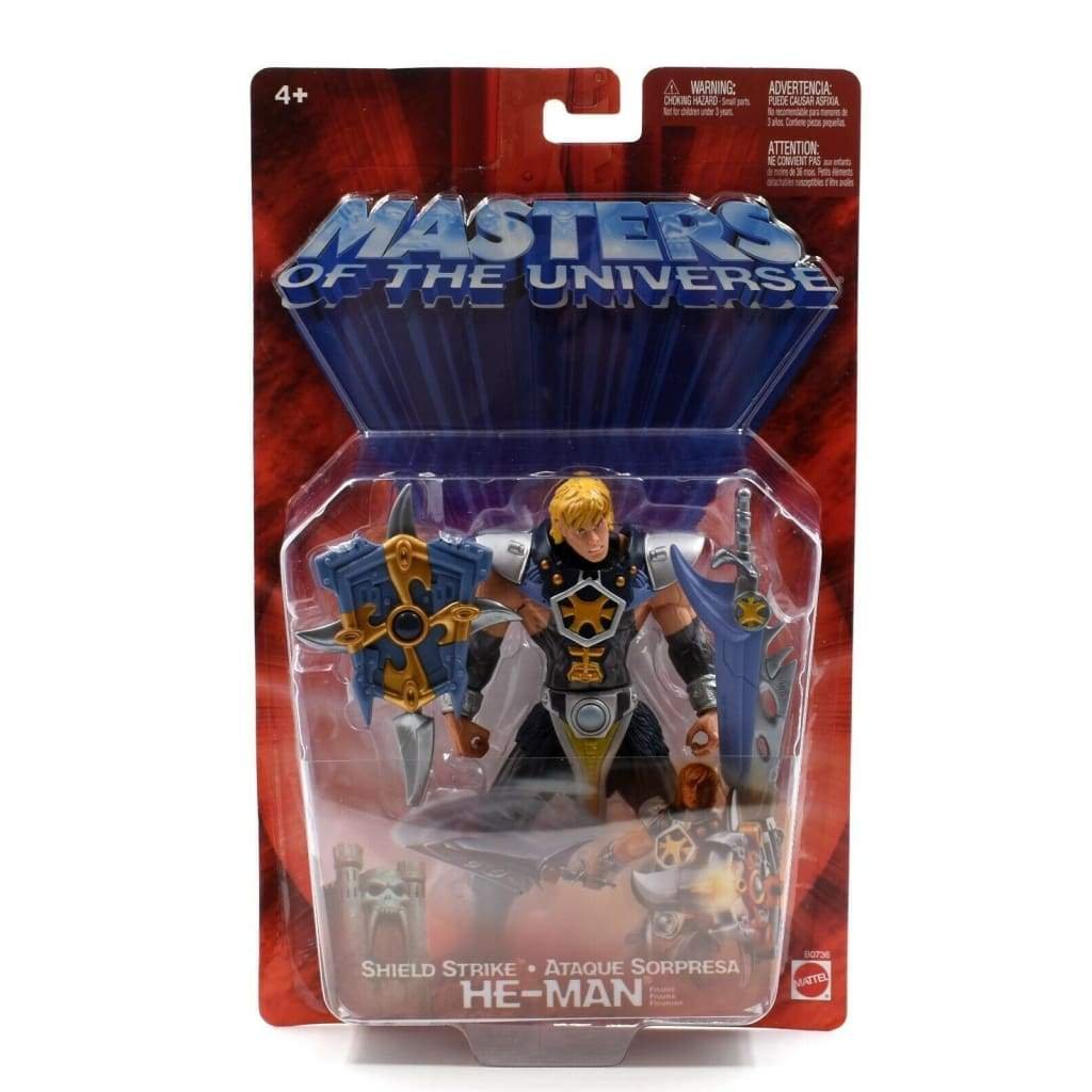 Mattel - Masters of the Universe MOTU - Shield Strike He-Man Action Figure - Toys & Games:Action Figures:TV Movies & Video Games