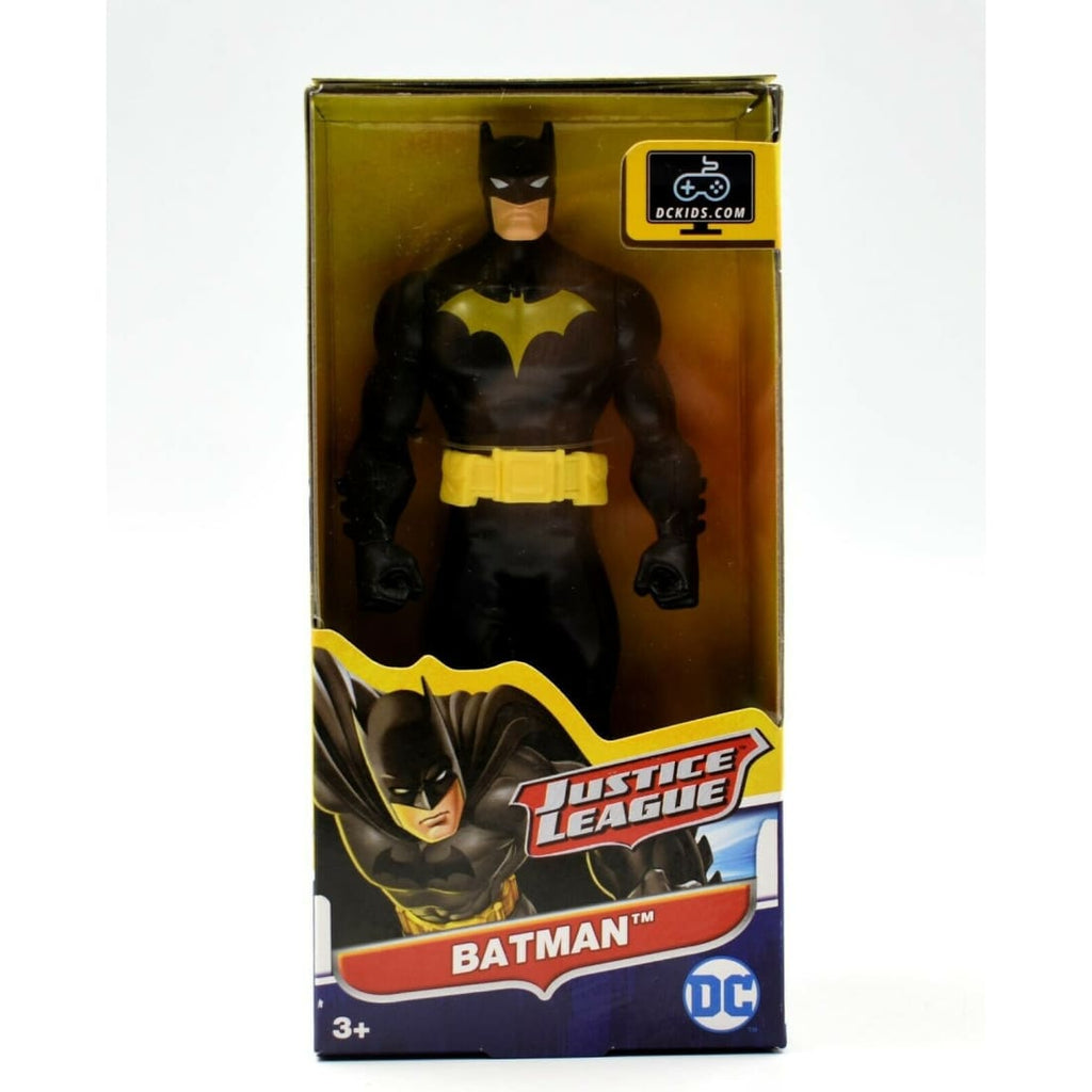 Mattel - DC Justice League - Batman (Black & Yellow Suit) Action Figure