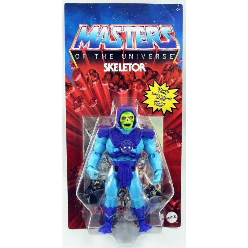 Mattel - Masters of the Universe Origins 2020 - Skeletor Action Figure PRE-ORDER - Toys & Games:Action Figures:TV Movies & Video Games