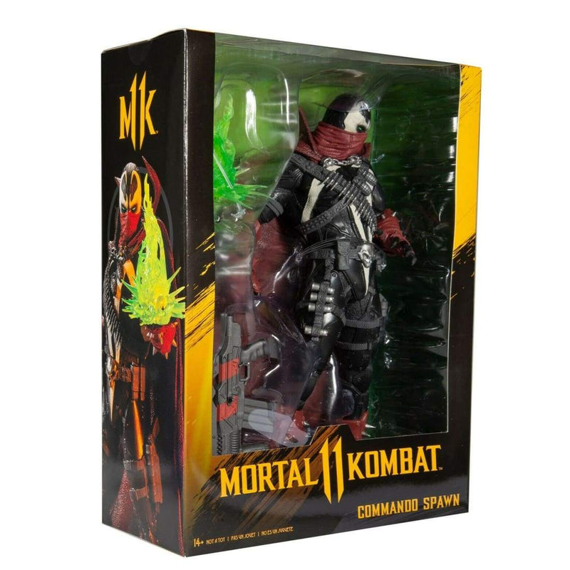McFarlane Toys - Mortal Kombat 11 - Commando Spawn 12 Scale Action Figure - Toys & Games:Action Figures:TV Movies & Video Games