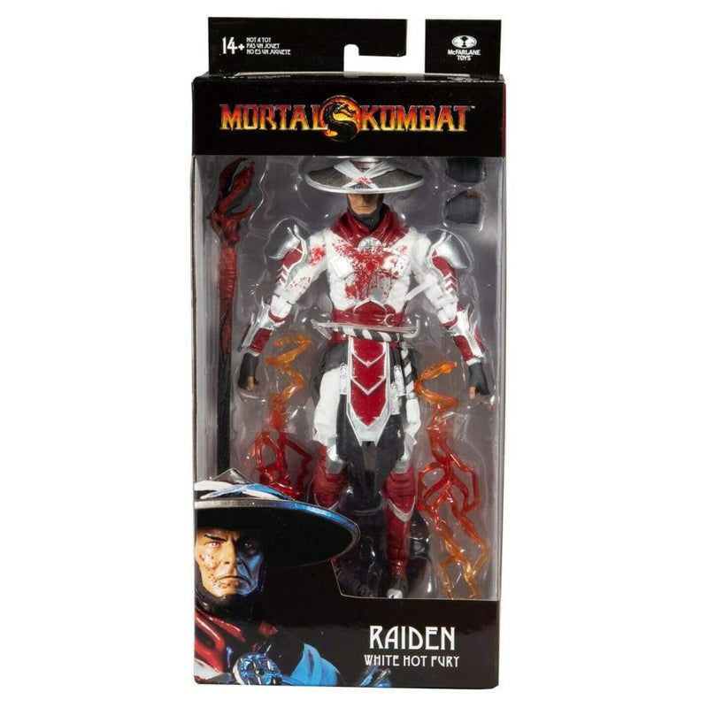 McFarlane Toys - Mortal Kombat 11 - Raiden (Bloody White-Hot Fury) IN STOCK - Toys & Games:Action Figures:TV Movies & Video Games