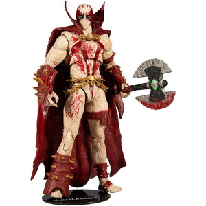 McFarlane Toys - Mortal Kombat - Spawn Blood Feud Hunter 7 Scale Action Figure - Toys & Games:Action Figures:TV Movies & Video Games