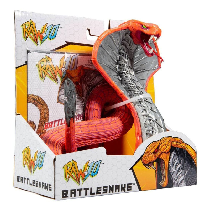 McFarlane Toys - RAW 10 Wave 1 - Battlesnake Action Figure