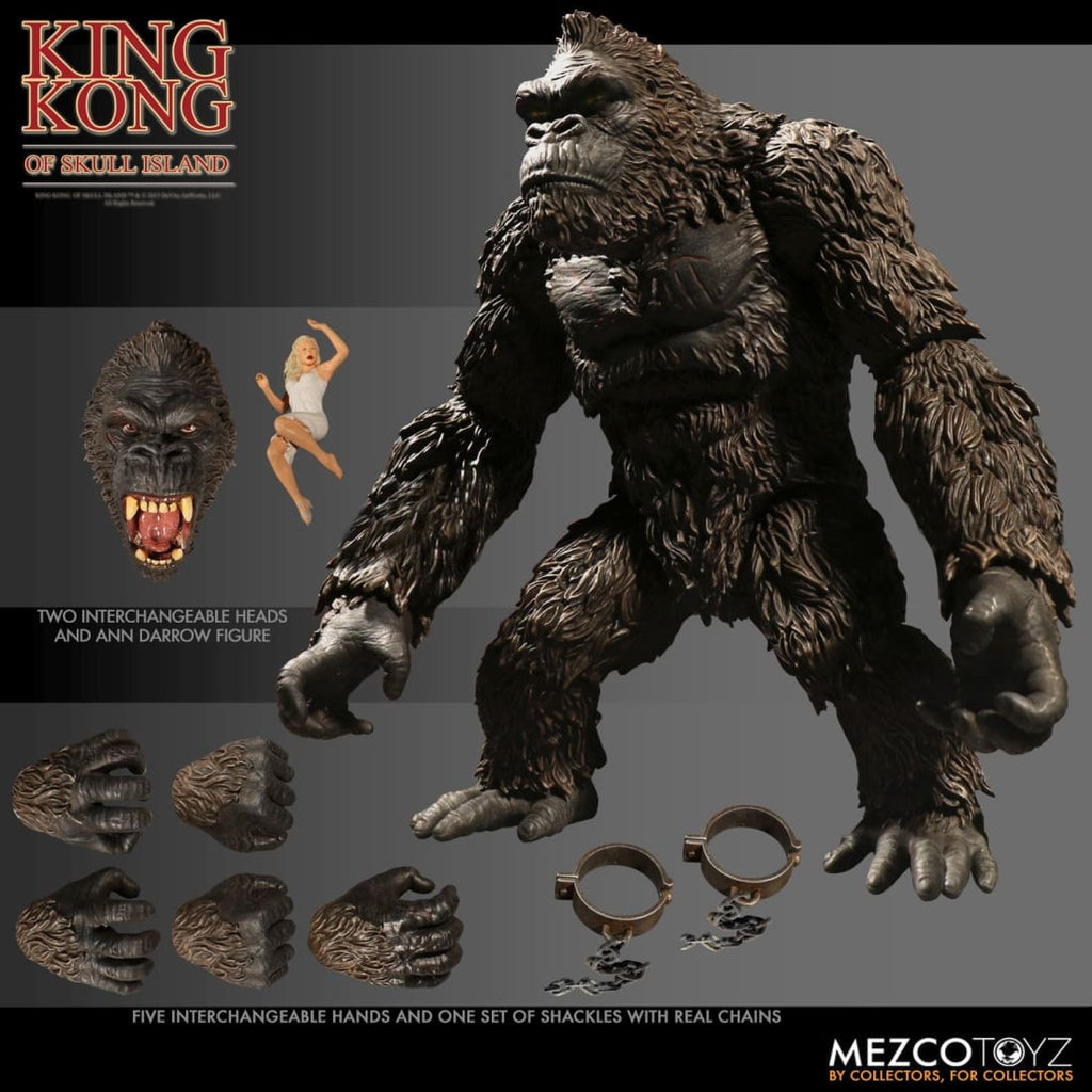Mezco - King Kong of Skull Island 7 Scale Action Figure - PRE-ORDER