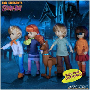 Mezco - Living Dead Dolls Presents Mystery Inc & Scooby Doo Full Set - PRE-ORDER