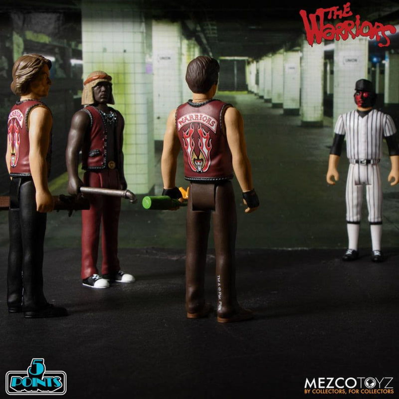 Mezco - The Warriors 5 Points Action Figures Box Set - PRE-ORDER