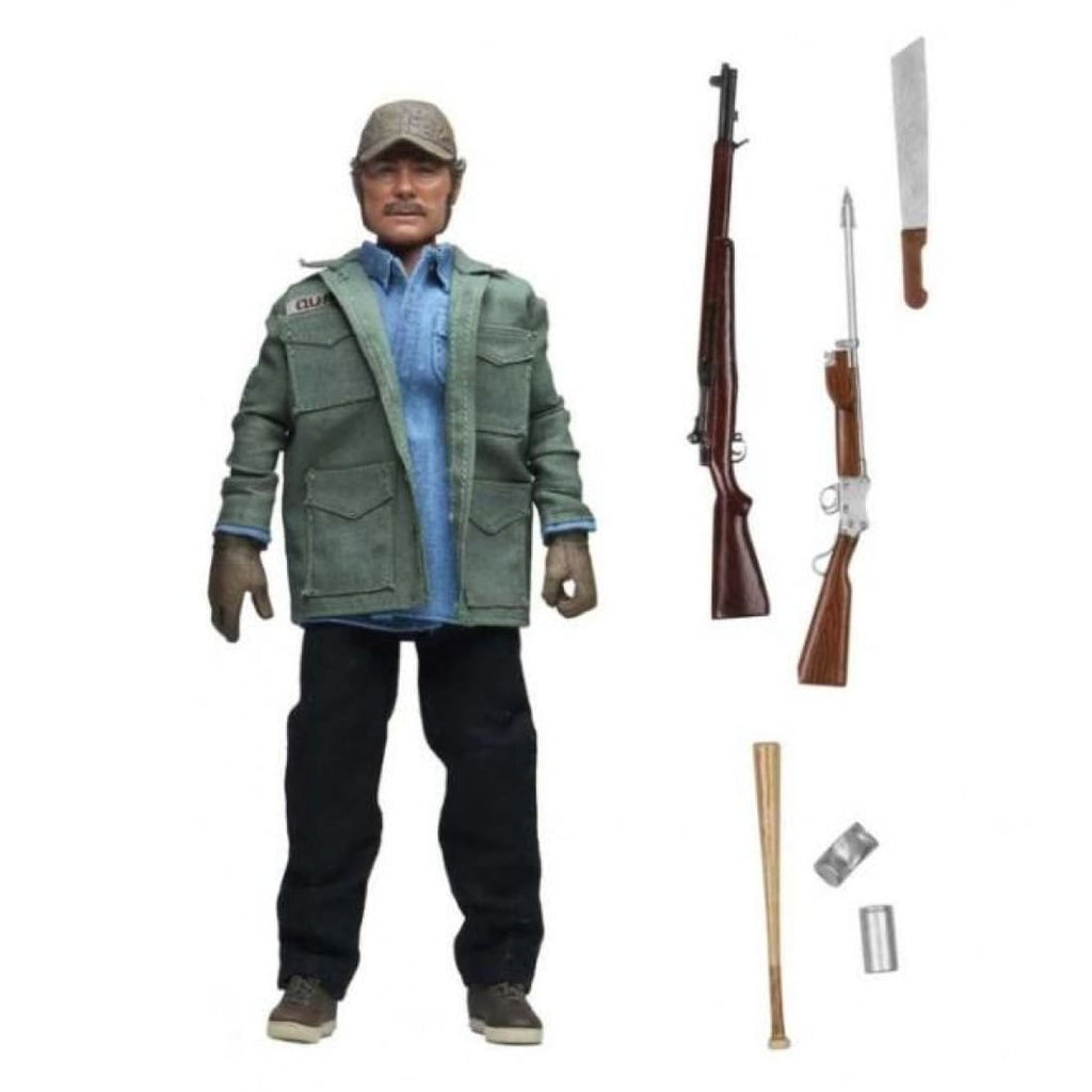 NECA - Jaws - Sam Quint Clothed 8 Action Figure - PRE-ORDER
