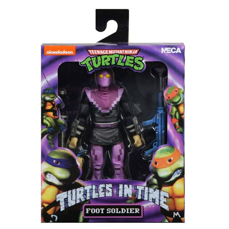 NECA Teenage Mutant Ninja Turtles in Time Series 1 Foot Soldier 7 Action Figure - Toys & Games:Action Figures:TV Movies & Video Games