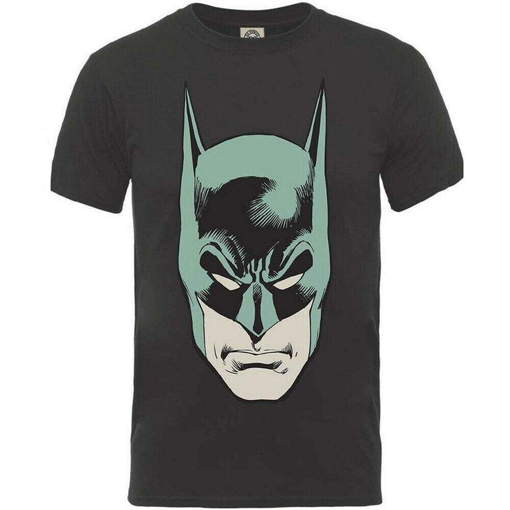 Official DC Comics - Originals Batman Head Design Motif T-Shirt - XL - Clothes Shoes & Accessories:Mens Clothing:Shirts & Tops:T-Shirts