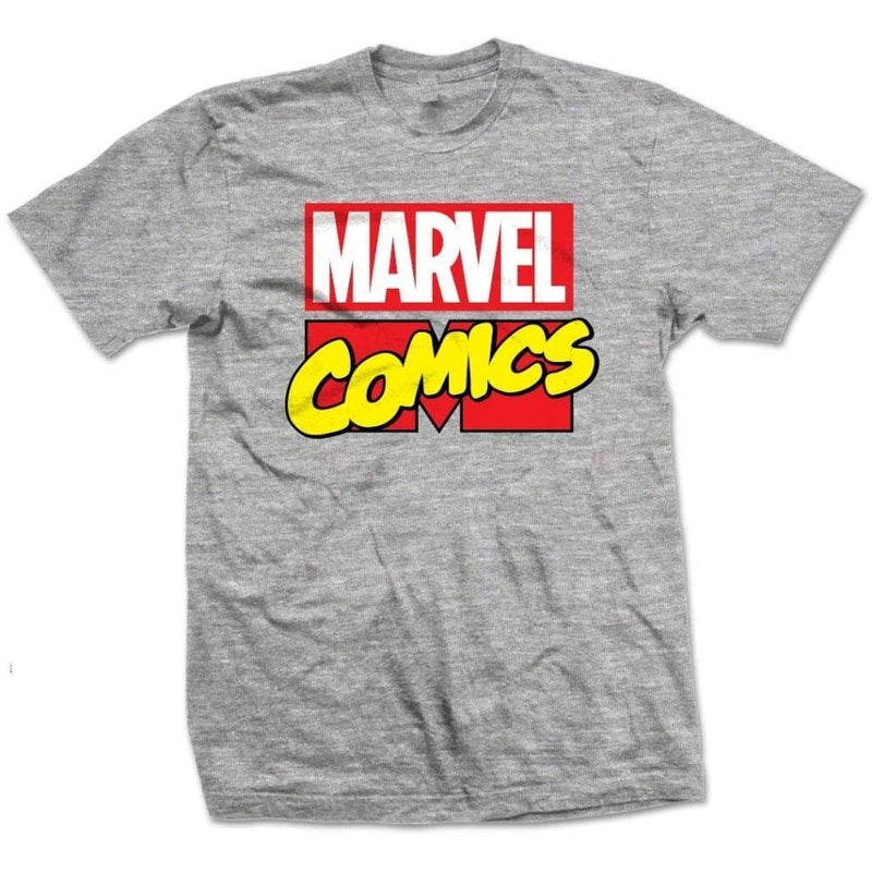 Official Marvel Comics - Marvel Logo Mens T-Shirt - S
