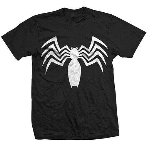 Official Marvel Comics - Ultimate Spiderman Venom Design Motif T-Shirt - L - Clothes Shoes & Accessories:Mens Clothing:Shirts &
