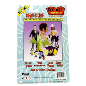 NECA - Pee-Wees Playhouse Series 1 - Miss Yvonne Poseable Action Figure - Toys & Games:Action Figures:TV Movies & Video Games
